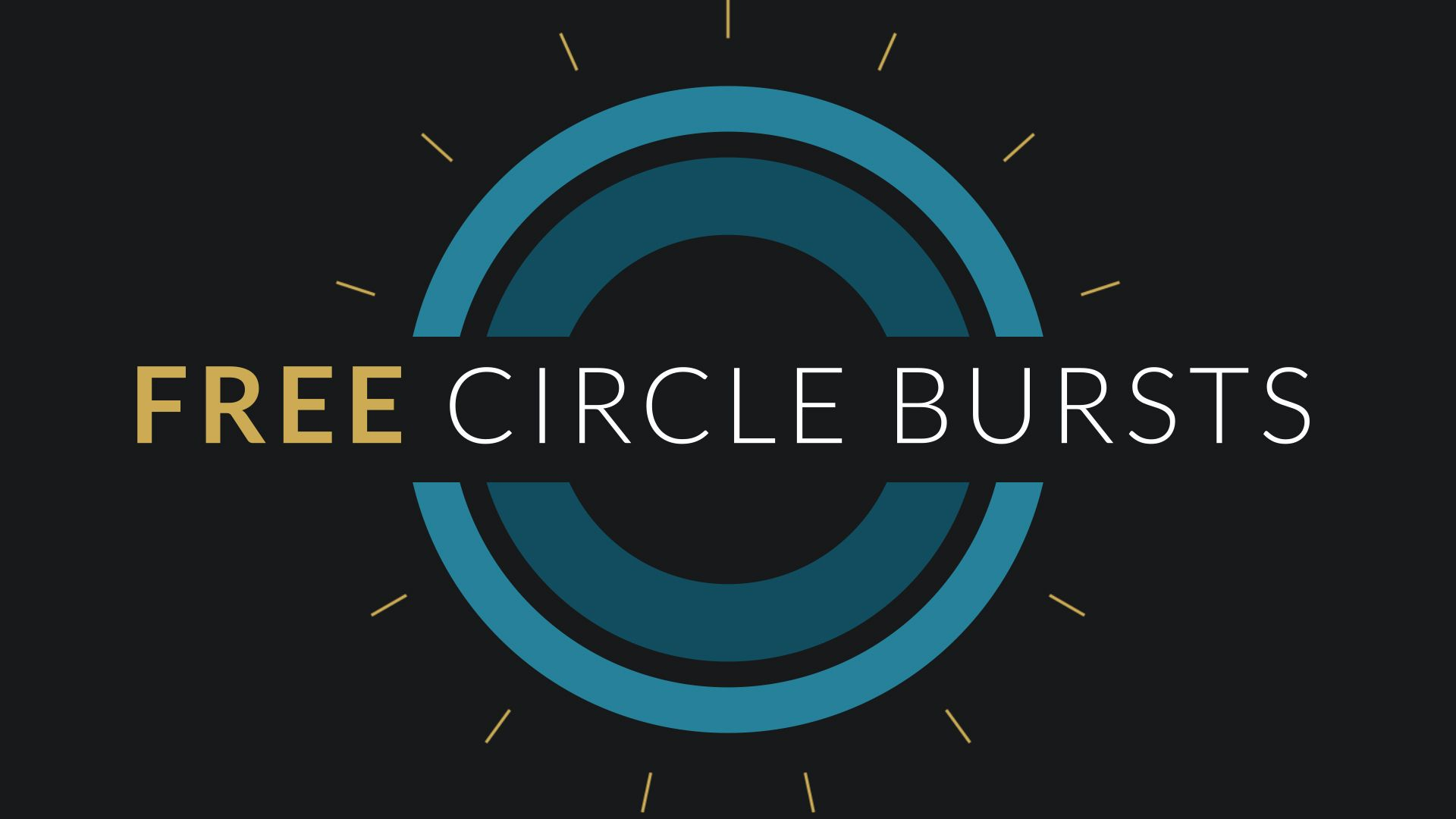 Free After Effects Template Circle Burst Assets With Images