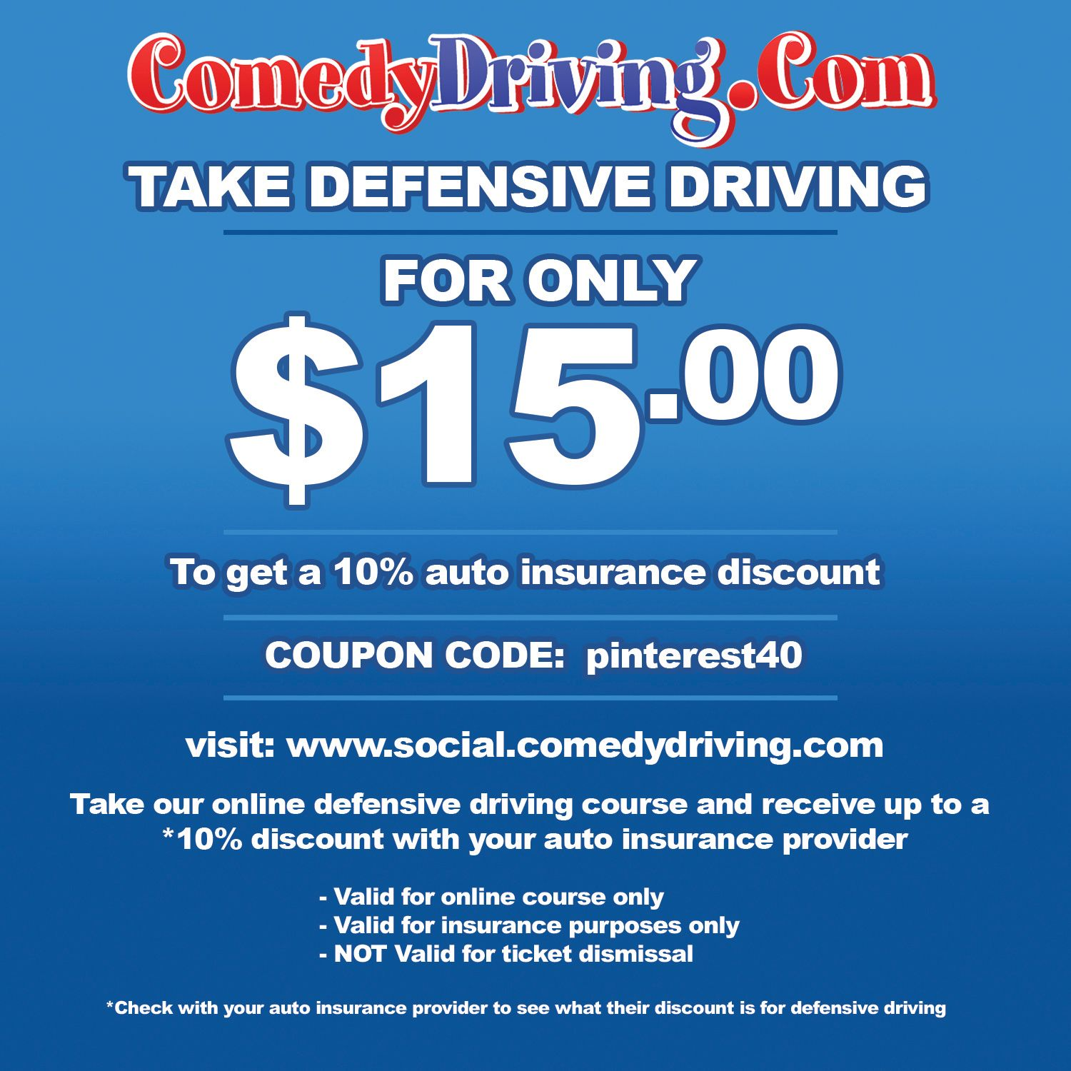 Defensive Driving Driving Courses Car Insurance Driving