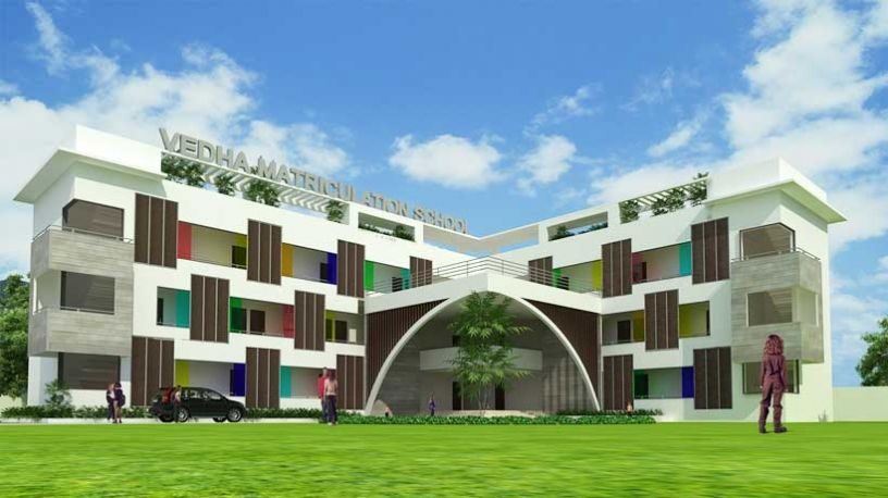 School building architecture design in chennai top for Best building design