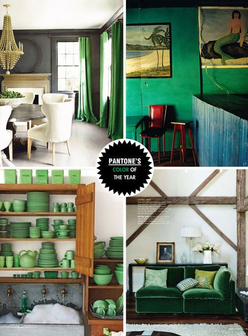 Emerald Green Decor Inspiration