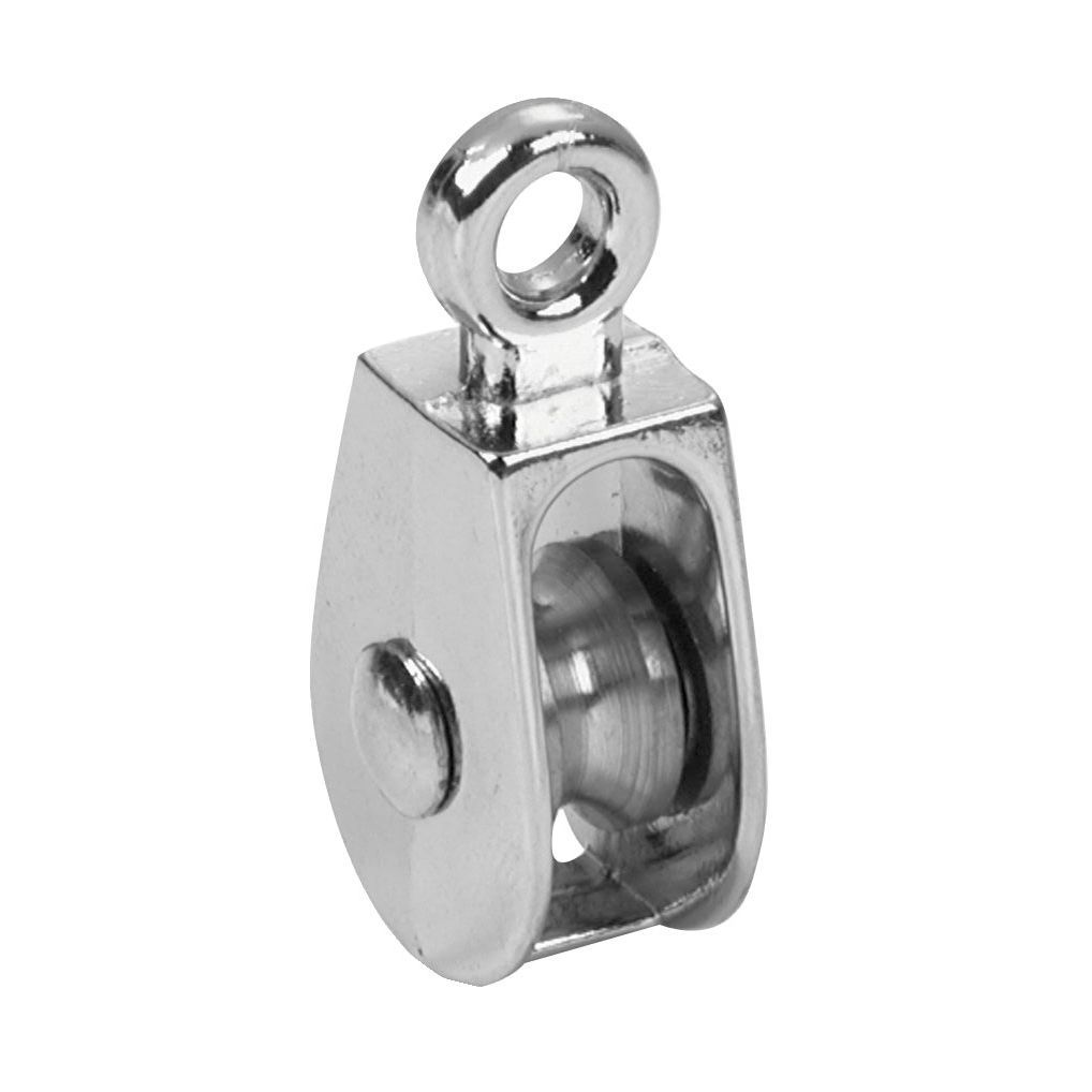 Campbell T7655112 1 Rigid Eye Single Sheave Pulley (Hardware ...