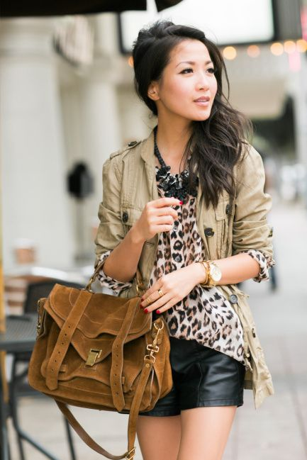 Double Prints :: Leopard silk