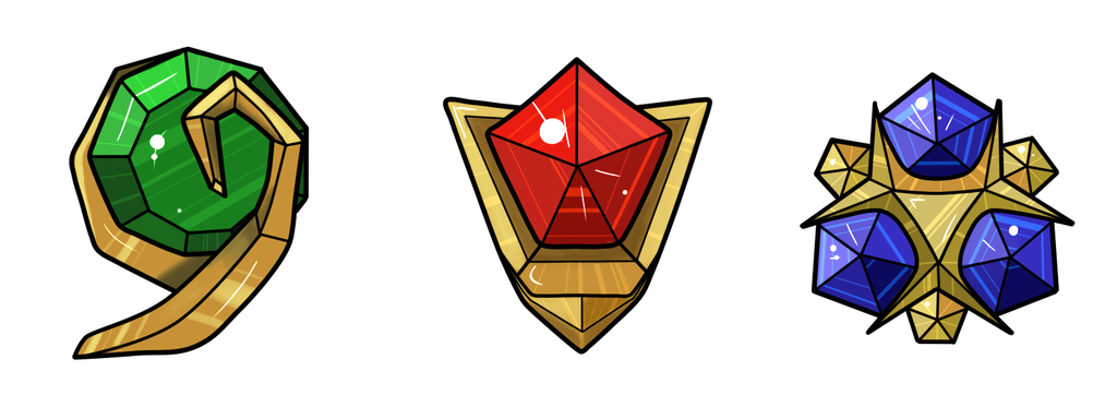 The Spiritual Stones By Scarletscarab Deviantart Com On Deviantart Zelda Tattoo Legend Of Zelda Tattoos Zelda Art