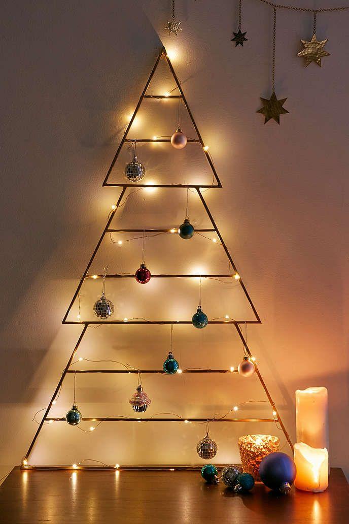 Minimal Metal Tree Best Christmas Lights Metal Christmas Tree