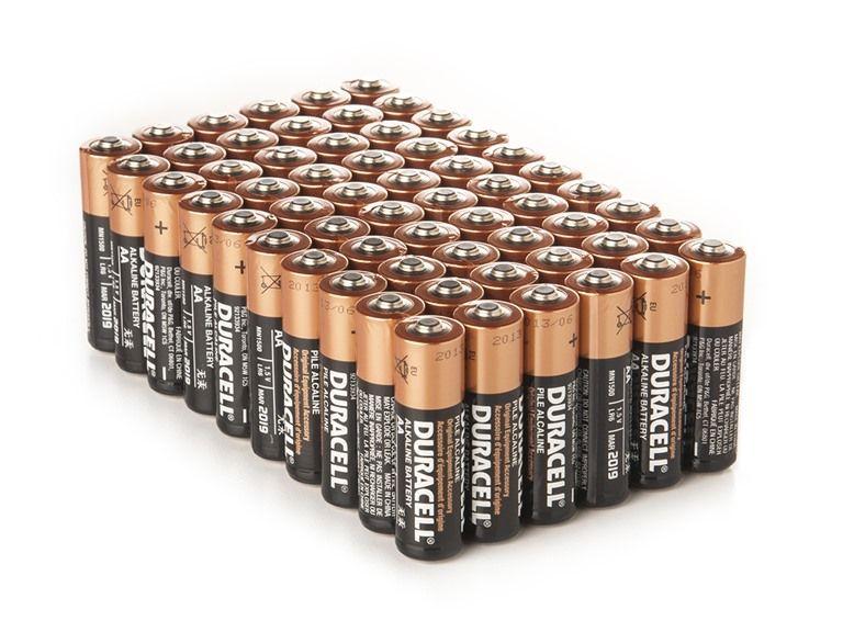 Aa Coppertop Alkaline Batteries 60 Pack Alkaline Battery Duracell Alkaline