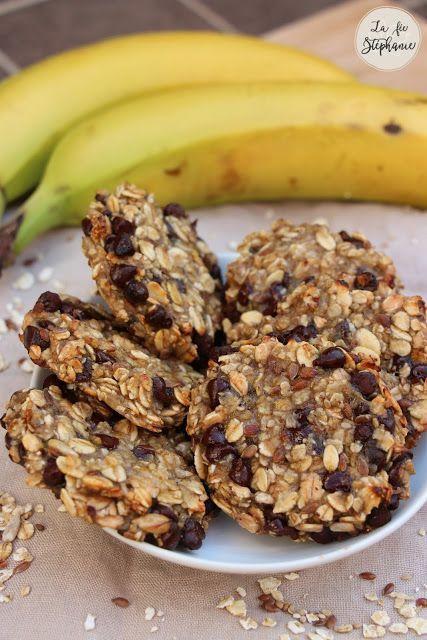 recette des cookies aux flocons d'avoine, sans farine, oeuf