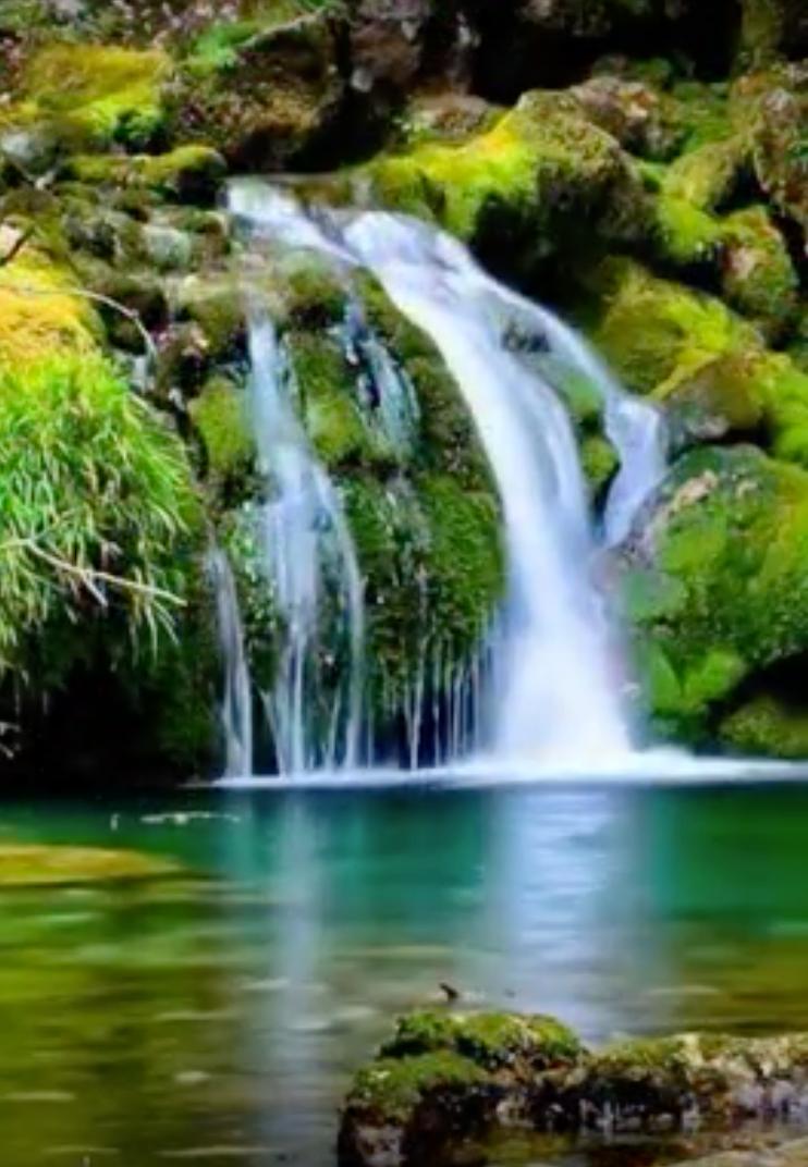 Cascades Landschap Natuurfoto S Natuur Behang