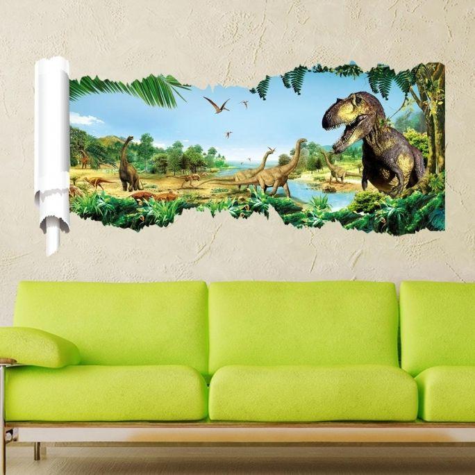 Jurassic Park Inspired Toddler Room | Home Interior Design ...  |Jurassic Park Interior Design