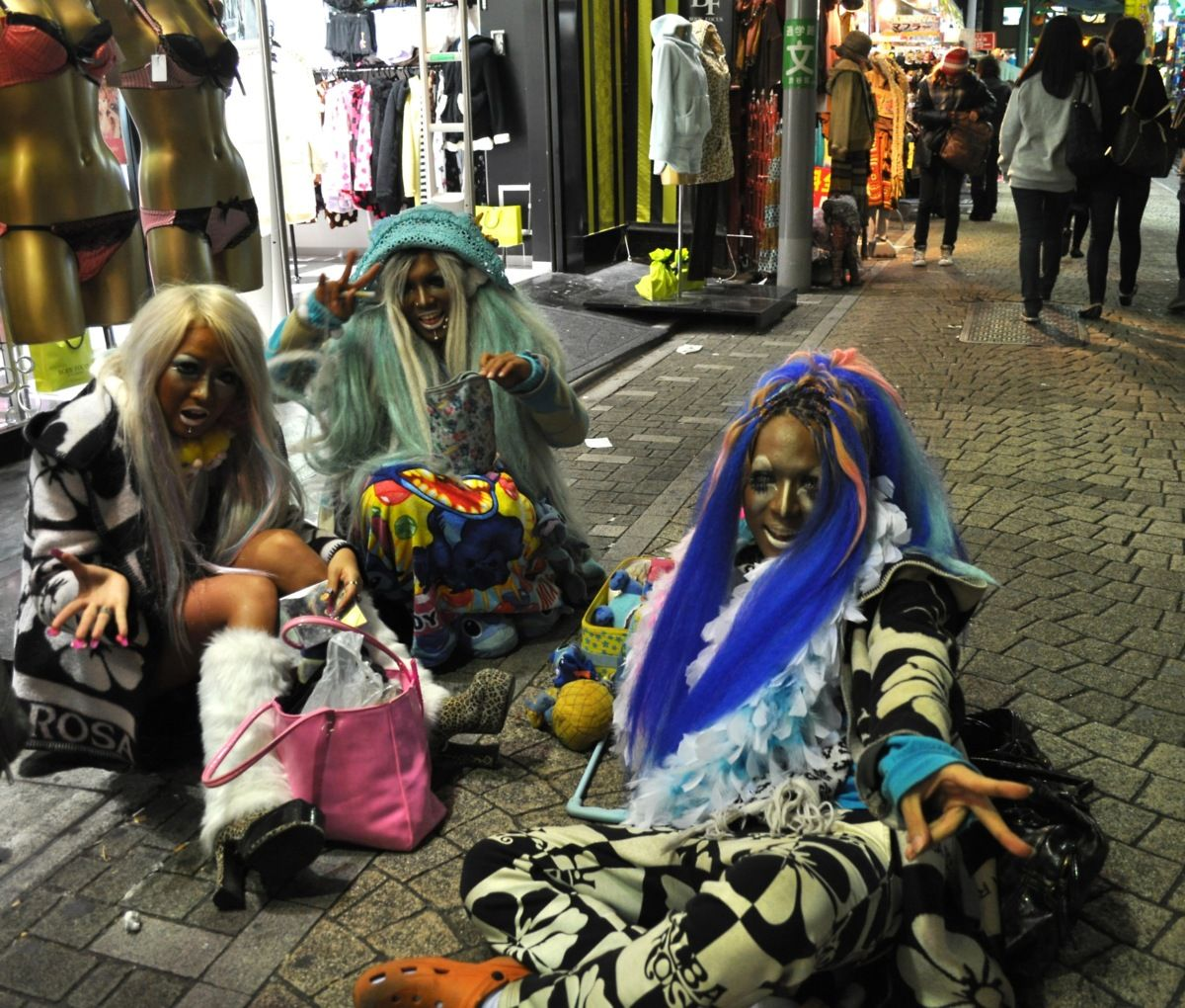 Tokyo expressions of individuality...