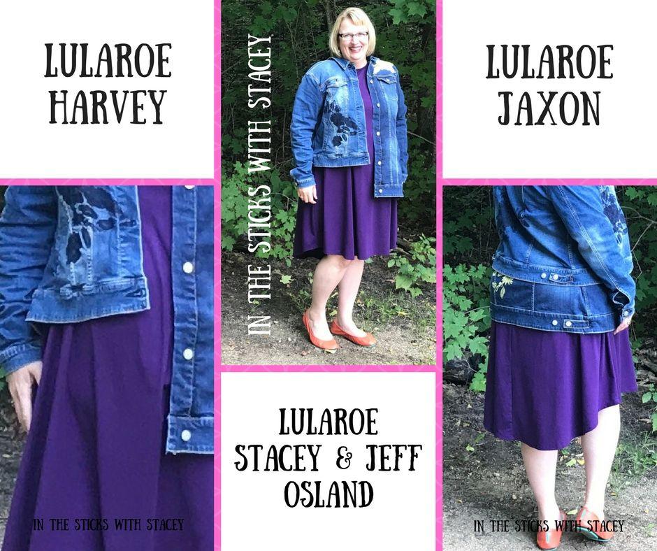 LuLaRoe Harvey jacket and LuLaRoe Jaxon jacket are amazing Here is