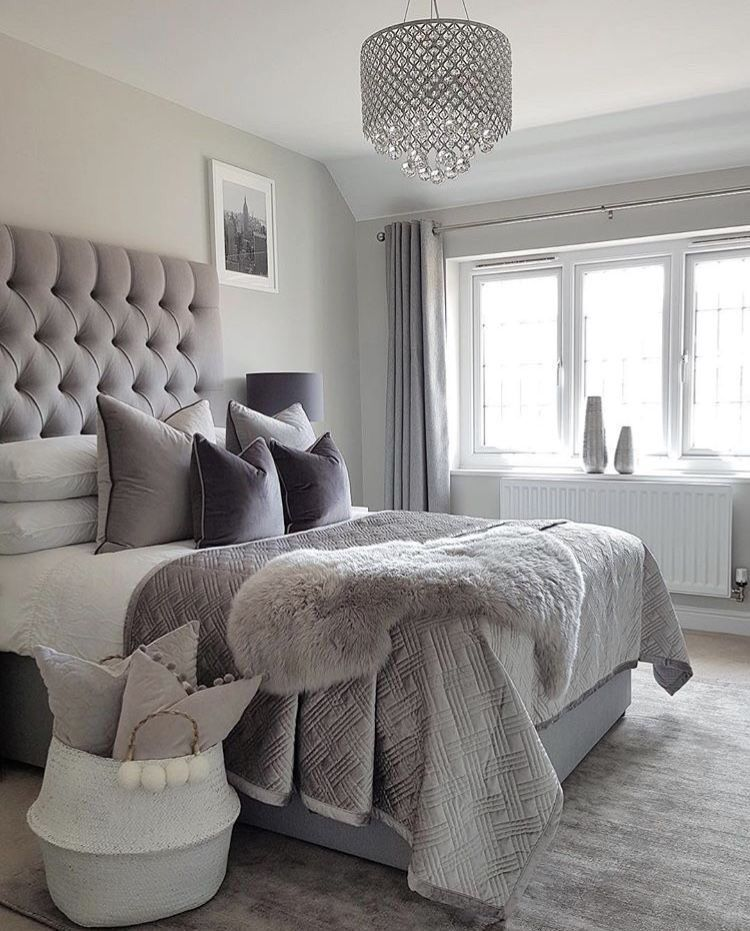 Grey Bedroom Ideas – from the super glam to the ultra modern ...