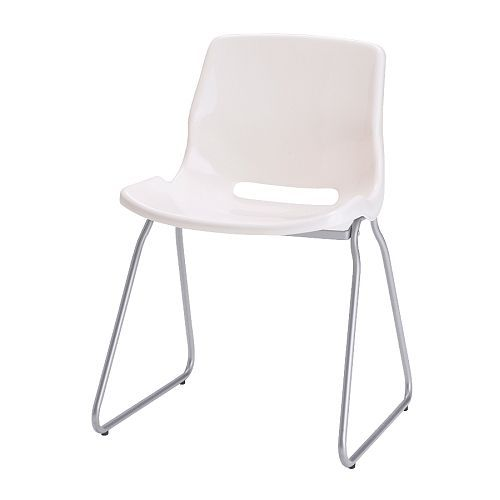 Snille Visitor Chair White Ikea Chairs For Around Table Could Be Fun To Mismatch Colors