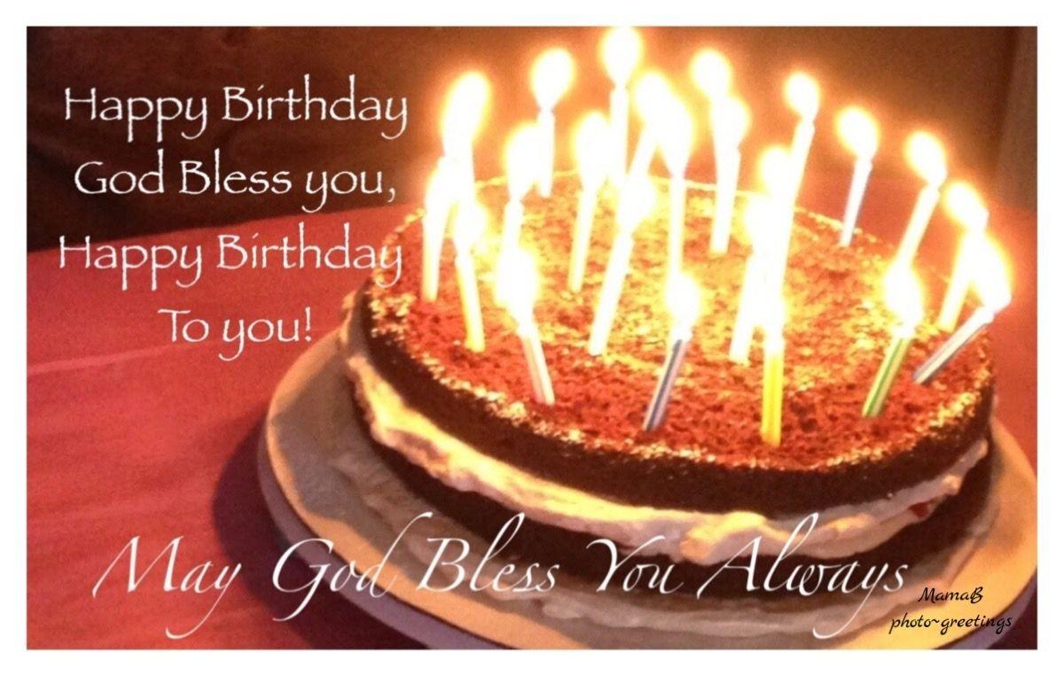Happy Birthday God Bless You Happy Birthday God Bless You Happy Birthday Blessing Happy Birthday Fireworks
