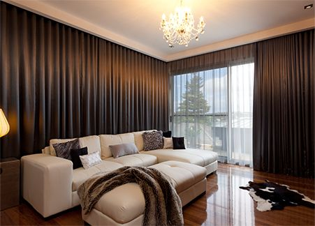 We Re Able To Offer And Installation Motorized Curtains In Abu