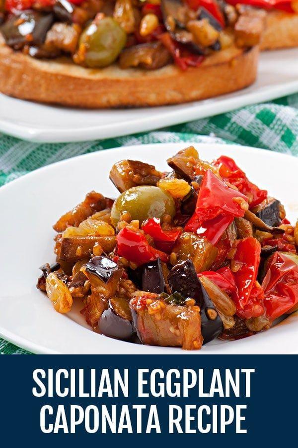 Photo of Caponata Recipe – The Best Sicilian Eggplant Appetizer