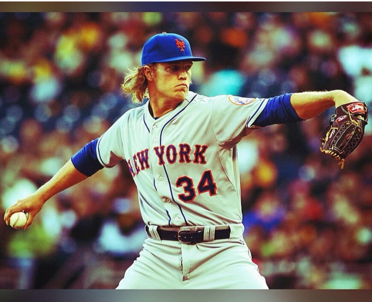 Thor Noah Syndergaard New York Mets New york mets