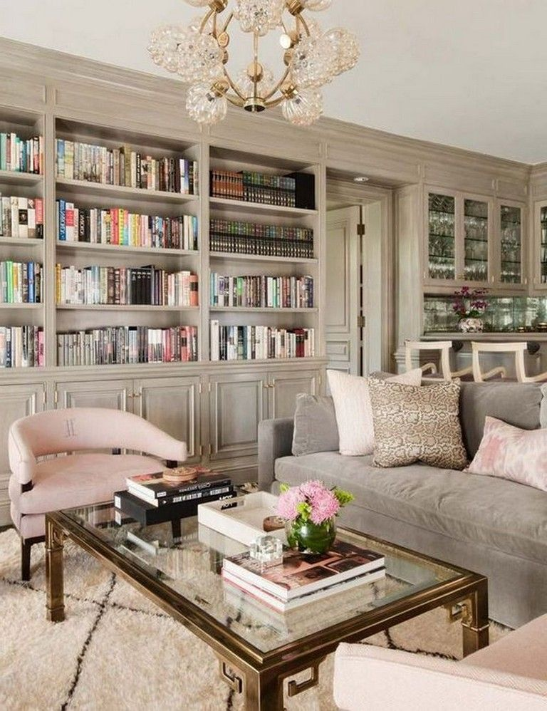 45+ Beautiful Living Room with Colorful Pastel Color Style images