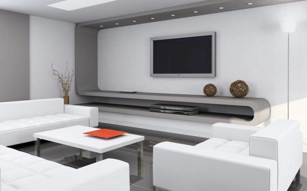 High Tech Style Interior Design Ideas Living Room Design Modern Minimalist Interior Design Modern Home Interior Design