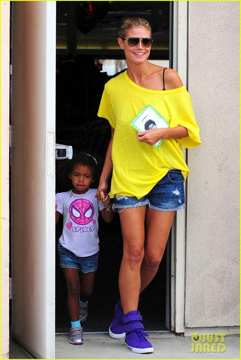 Ohhhh myyyy i soooo wannntttt those Supra sneackers!!!! Heidi Klum & Martin Kirsten: Chuck E. Cheese with the Kids!