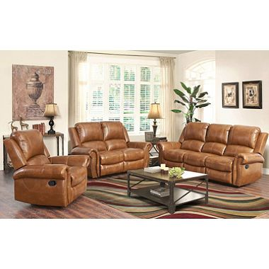 Winston Reclining Sofa Loveseat And Chair Set Dealepic Leather Living Room Set Living Room Leather Living Room Sets