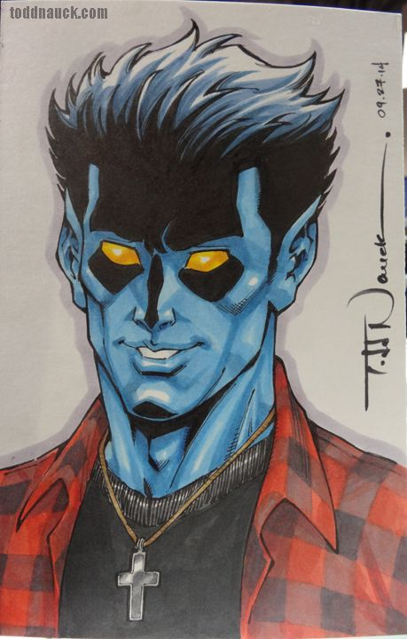 Kurt Wagner Nightcrawler By Todd Nauck Nightcrawler Marvel Nightcrawler Marvel Comic Universe