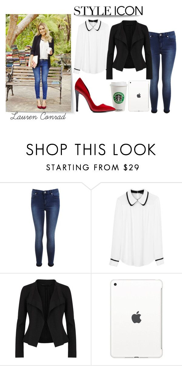 """""""lauren conrad"""" by ohfanyfany ❤ liked on Polyvore featuring Miss Selfridge, Tara Jarmon, Donna Karan, Apple and Anthony Vaccarello"""