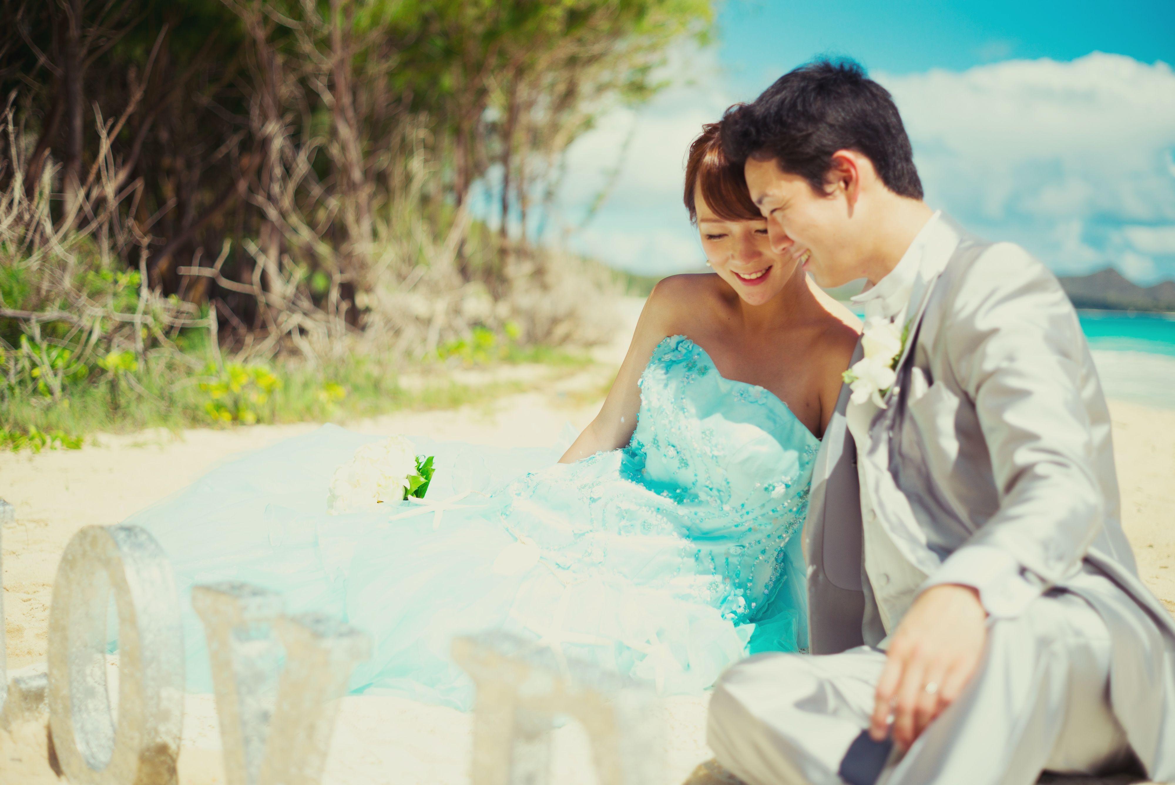 ビーチ挙式 二人だけの特別な景色を思い出に Waimanalo Waimanalo O O O O O O O Oo O 日本中のプレ花嫁さんと繋がりたい 全国のプレ花嫁さんと繋がり お嫁さん ウェディングフォト ハワイ ハワイ