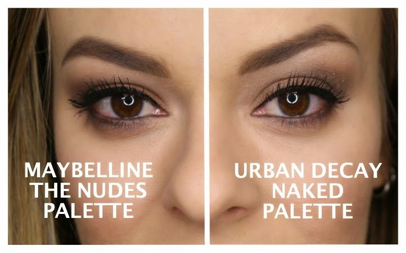 Drugstore Darlings: Let's Check Out The Maybelline The Nudes Palette | Gloss and Dirt