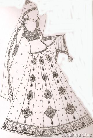 Fashion News Big Wedding In Bigg Boss Fashion Illustration Sketches Dresses Fashion Illustration Dresses Dress Design Sketches