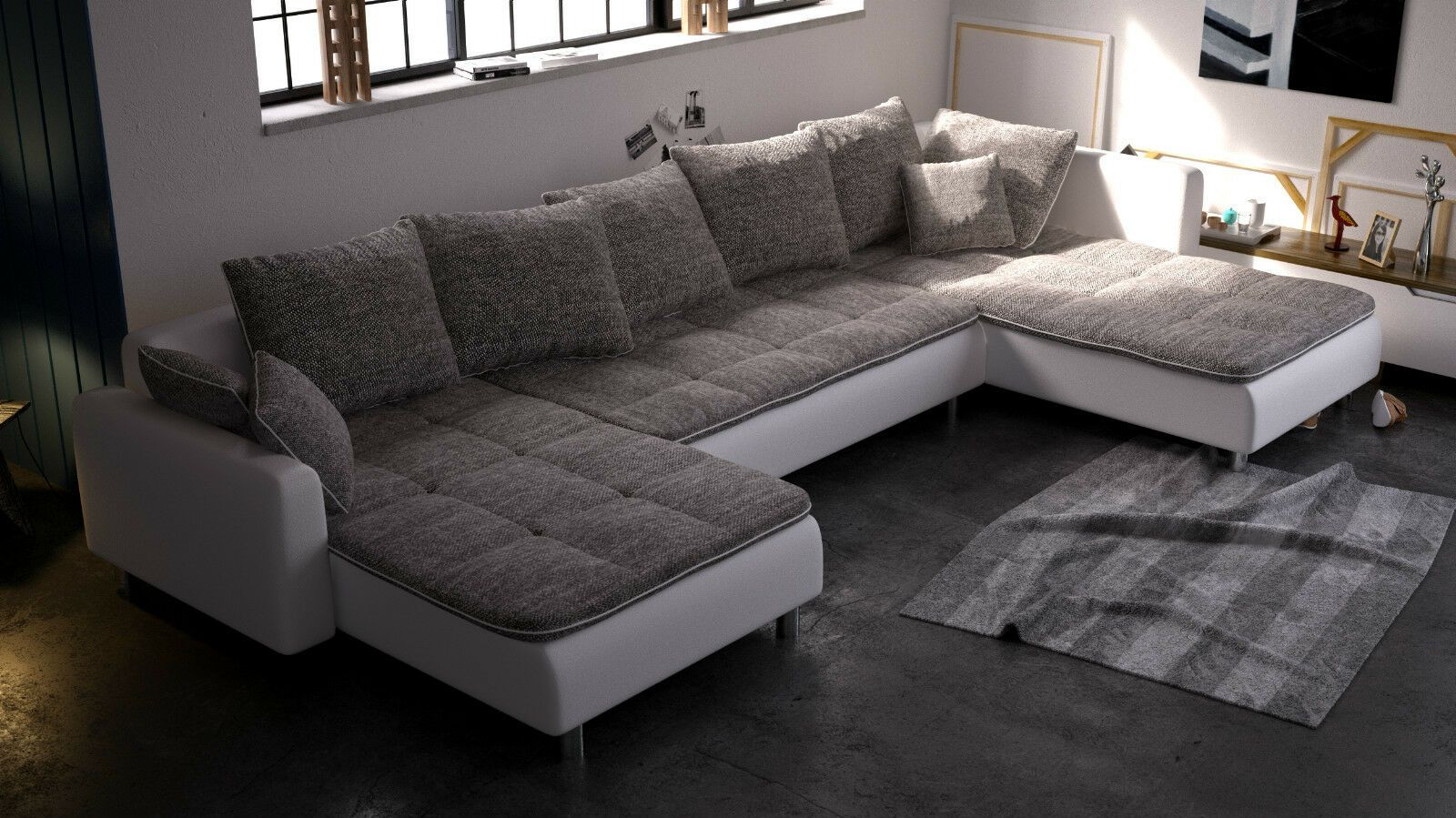 Grey Couch With Chaise And Recliner Variant Living In 2020 Living Room Sofa Set Couch With Chaise Couch