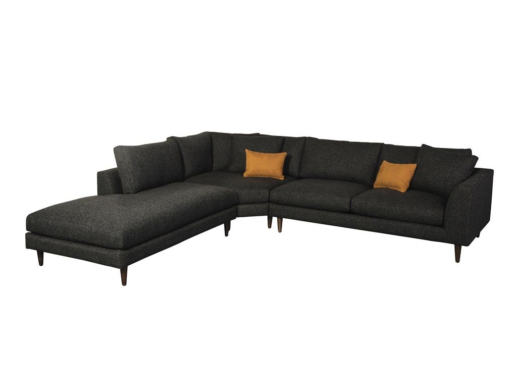 Jonathan Louis International Living Room Anton 3 Pc Sectional G67658 - Kittleu0027s Furniture - Indiana and  sc 1 st  Pinterest : jonathan louis chaise lounge - Sectionals, Sofas & Couches