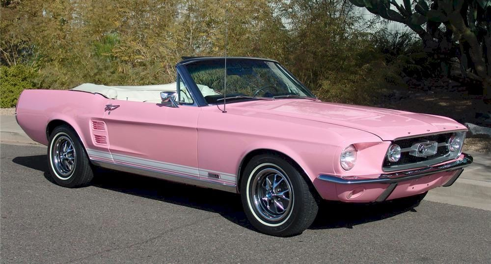 1967 pink 1967 ford mustang convertible mustangattitudecom photo detail - 1967 Ford Mustang Convertible Interior