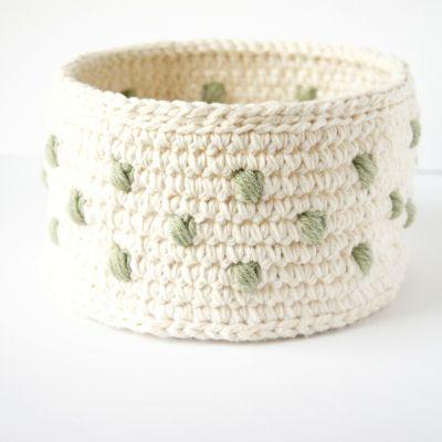 crochet pattern: stacking baskets | JaKiGu