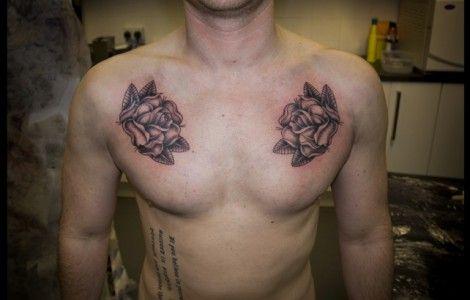 Black Rose Tattoos For Men On Chest Nail Art Tattoo Rose Tattoos For Men Tattoos For Guys Rose Tattoos