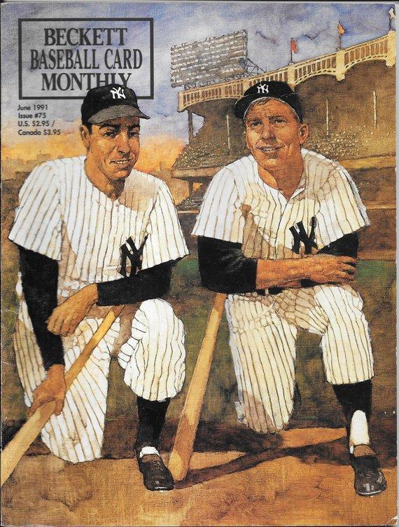 Beckett Baseball Card Price Guide 75 June 1991 Ny Yankee