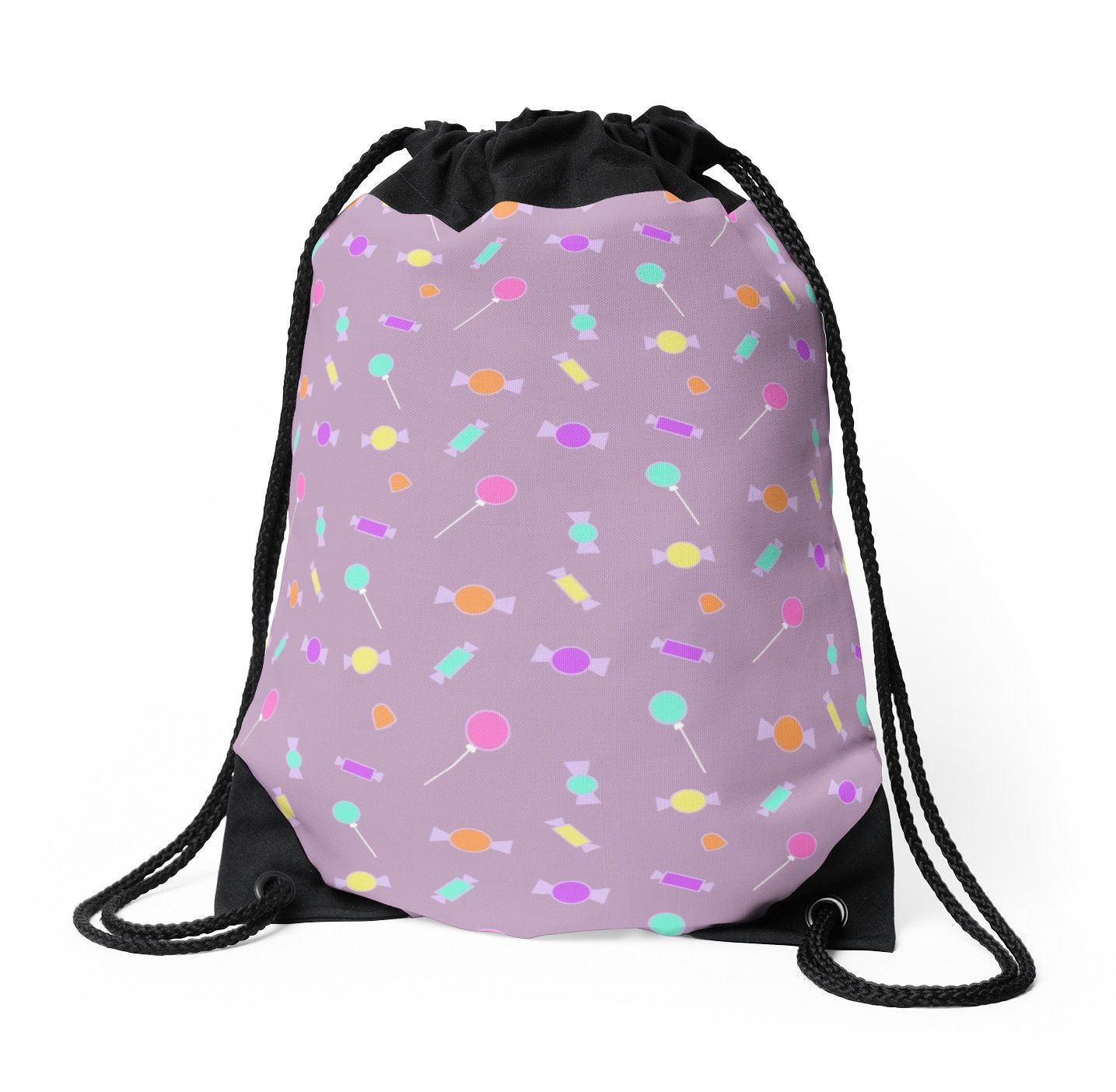 Drawstring Backpack Design