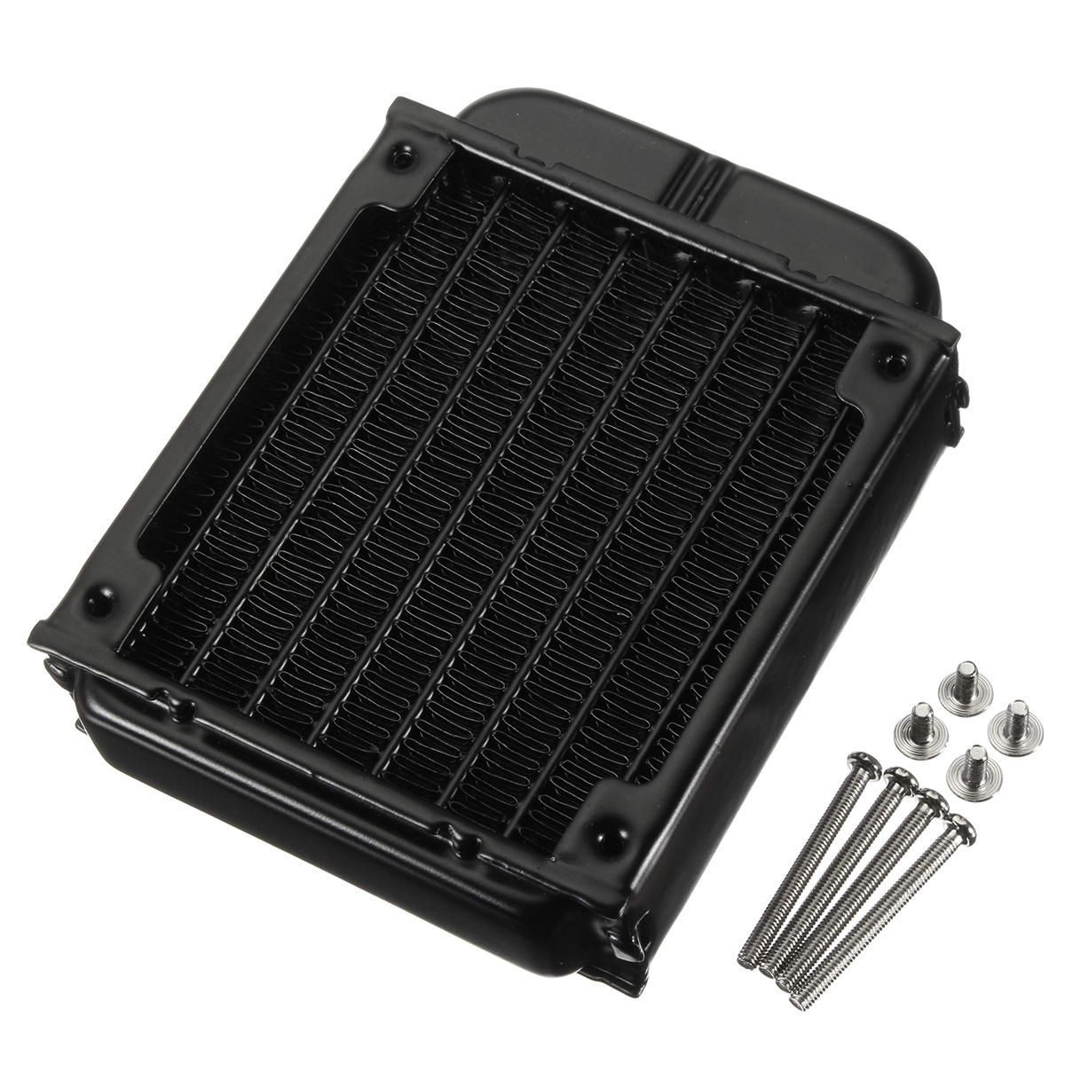 Us 10 99 80mm Aluminum Computer Radiator Water Cooling Cooler