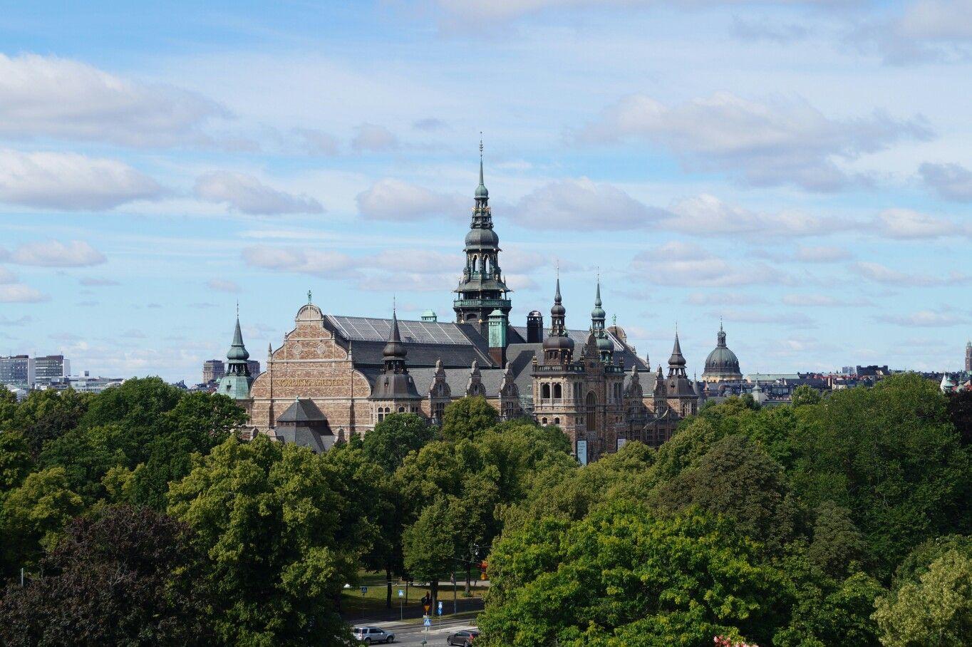 Stockholm Nordiska Museet Summer Sverige