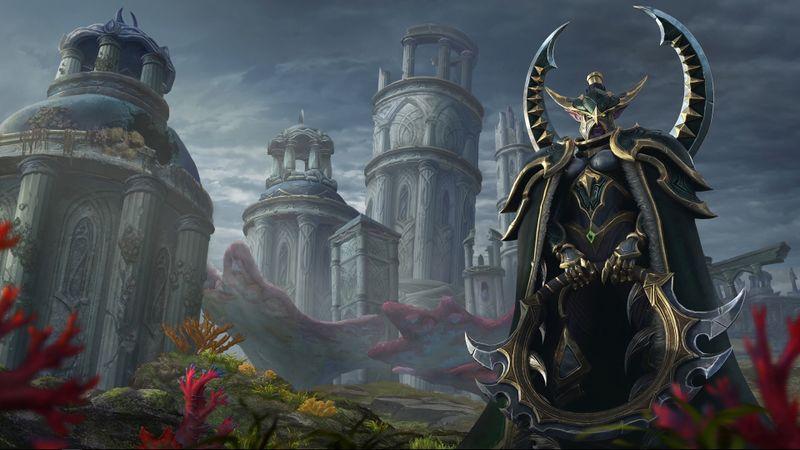 Warcraft Iii Reforged Ilustraciones Warcraft Elfo Nocturno
