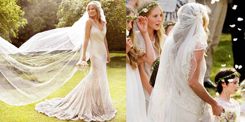 Kate Moss wedding dress - John Galliano | Fashion and Style ...