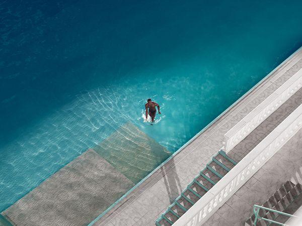 La piscine hotel by ulysse payet, via Behance