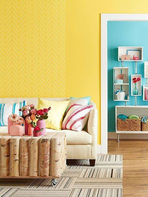 Cele mai frumoase interioare amenajate în galben [ I ] / Jurnal de ...