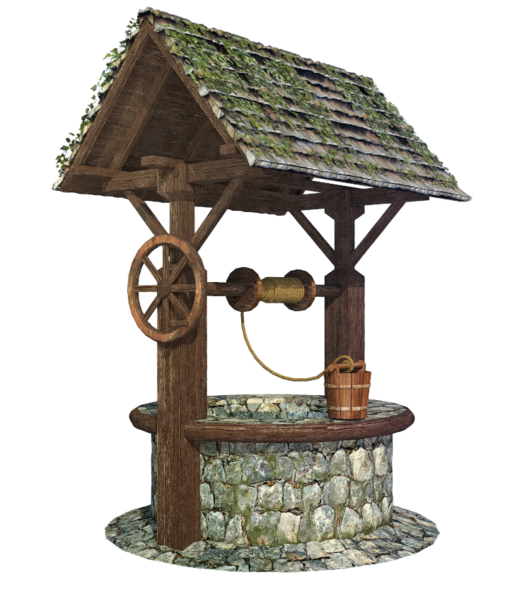 Well Decor: Water Well, Medieval, Wellness