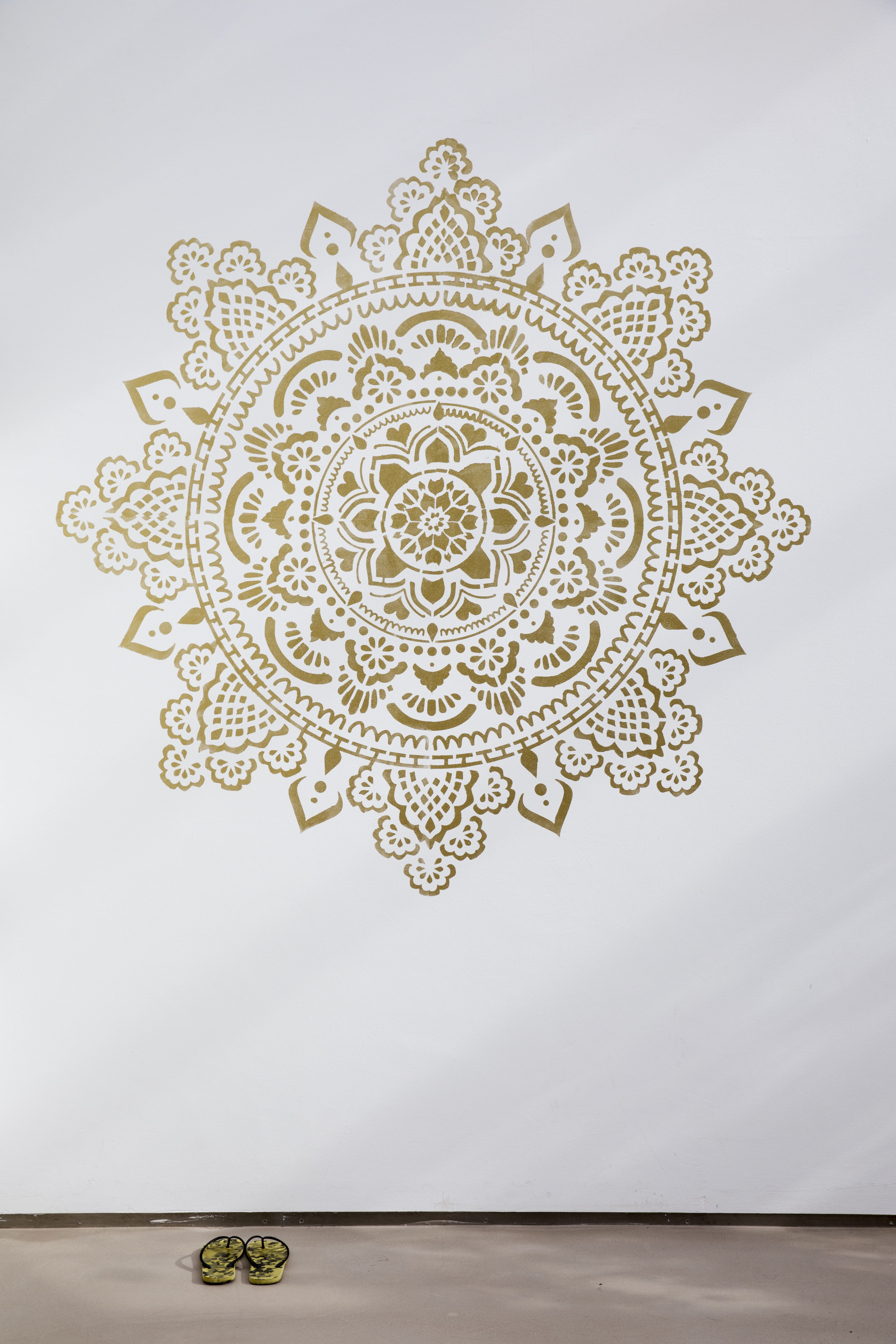 Mandala Wall Stencils DIY for Home Decor