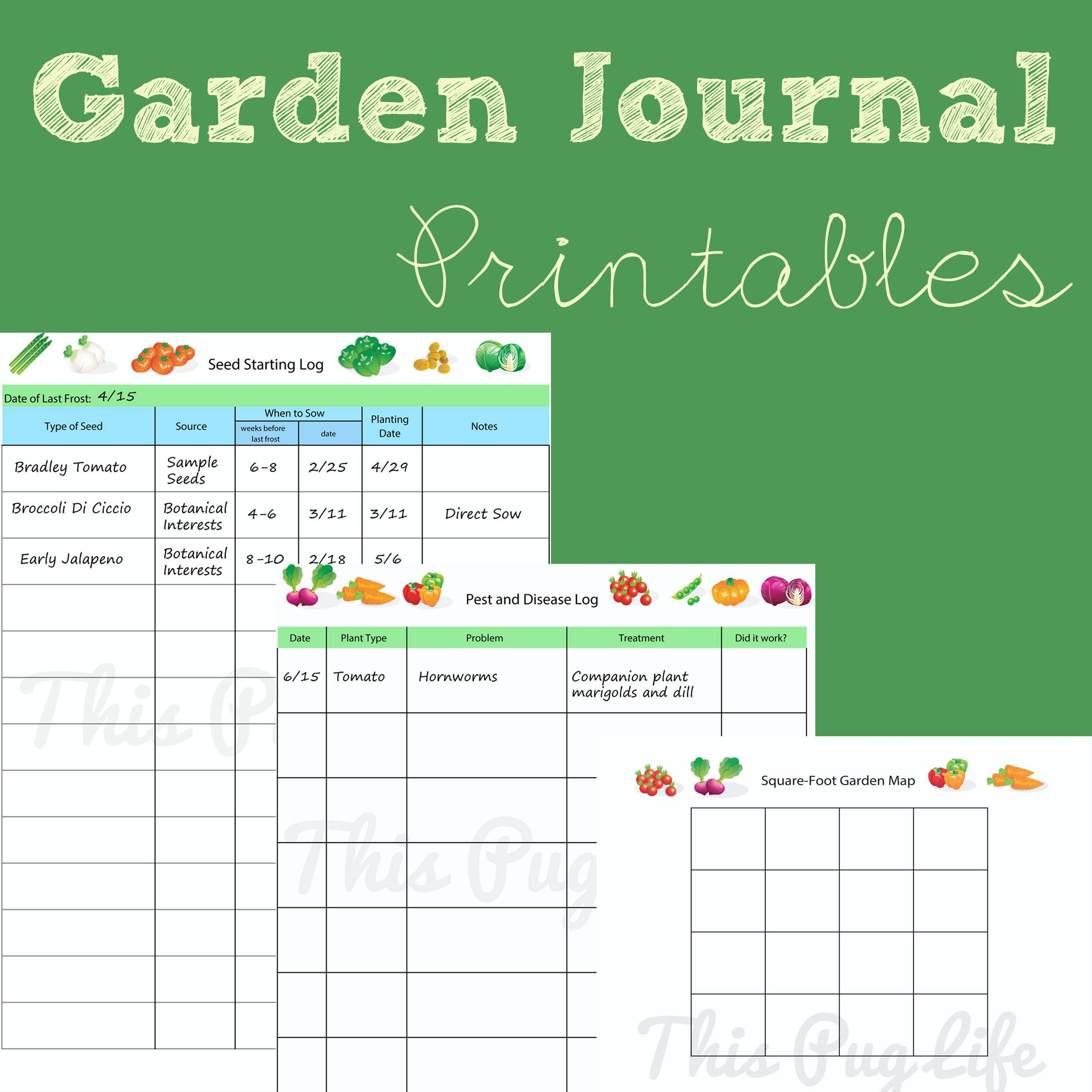 garden journal printables updated journal gardens and garden planner