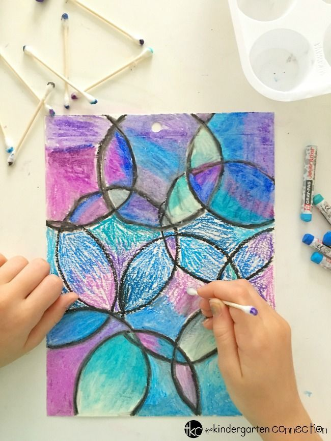 Easy Oil Pastel Watercolor Project for Kids   Arts & Crafts for Kids ...