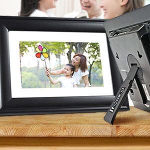 Pandigital 7 Digital Photo Frame W 5 In 1 Card Reader Onboard