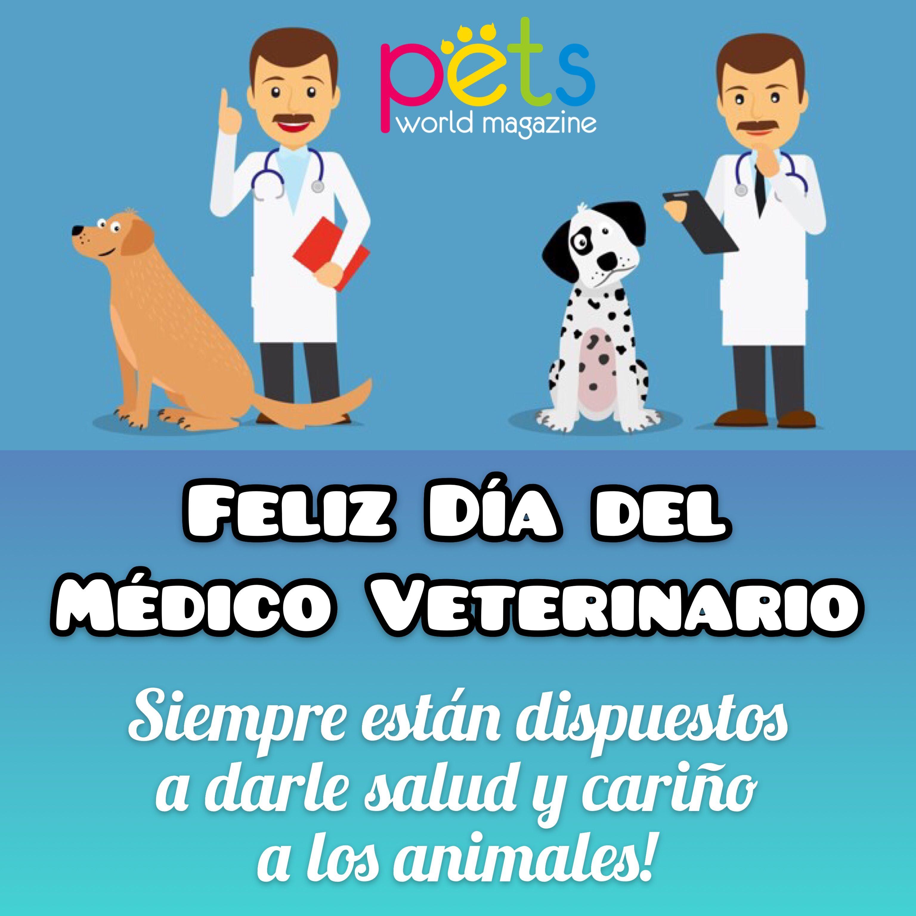 Feliz Dia Del Medico Veterinario Siempre Estan Dispuestos A Darle Salud Y Carino A Los Animales Pe Veterinary Veterinary Medicine Fictional Characters