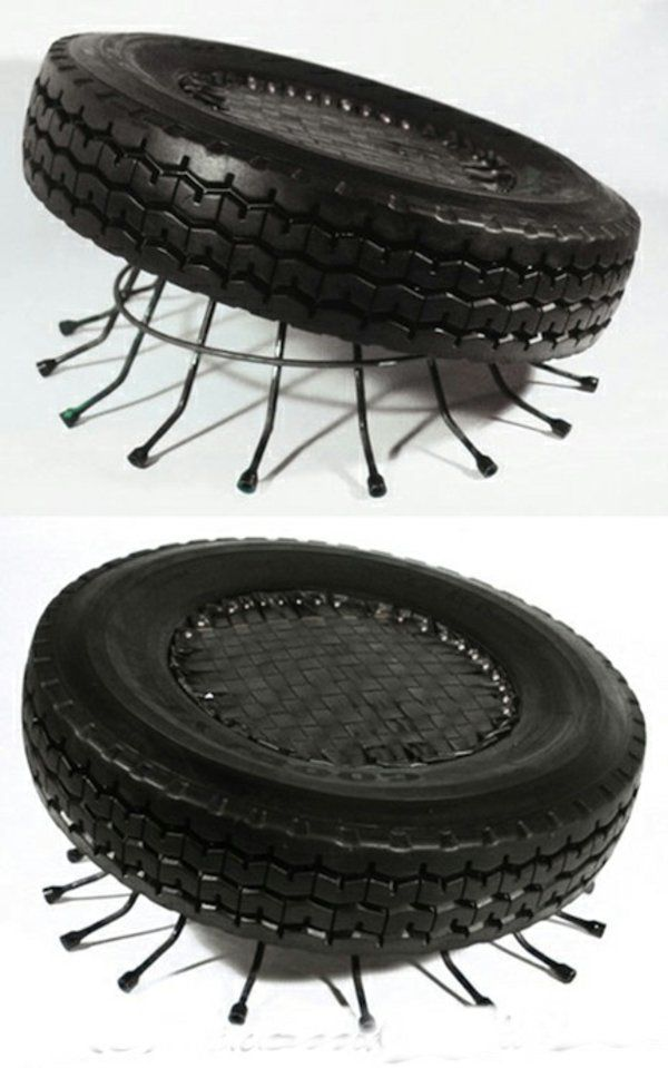 100 diy m bel aus autoreifen altreifen recycling factorylab. Black Bedroom Furniture Sets. Home Design Ideas