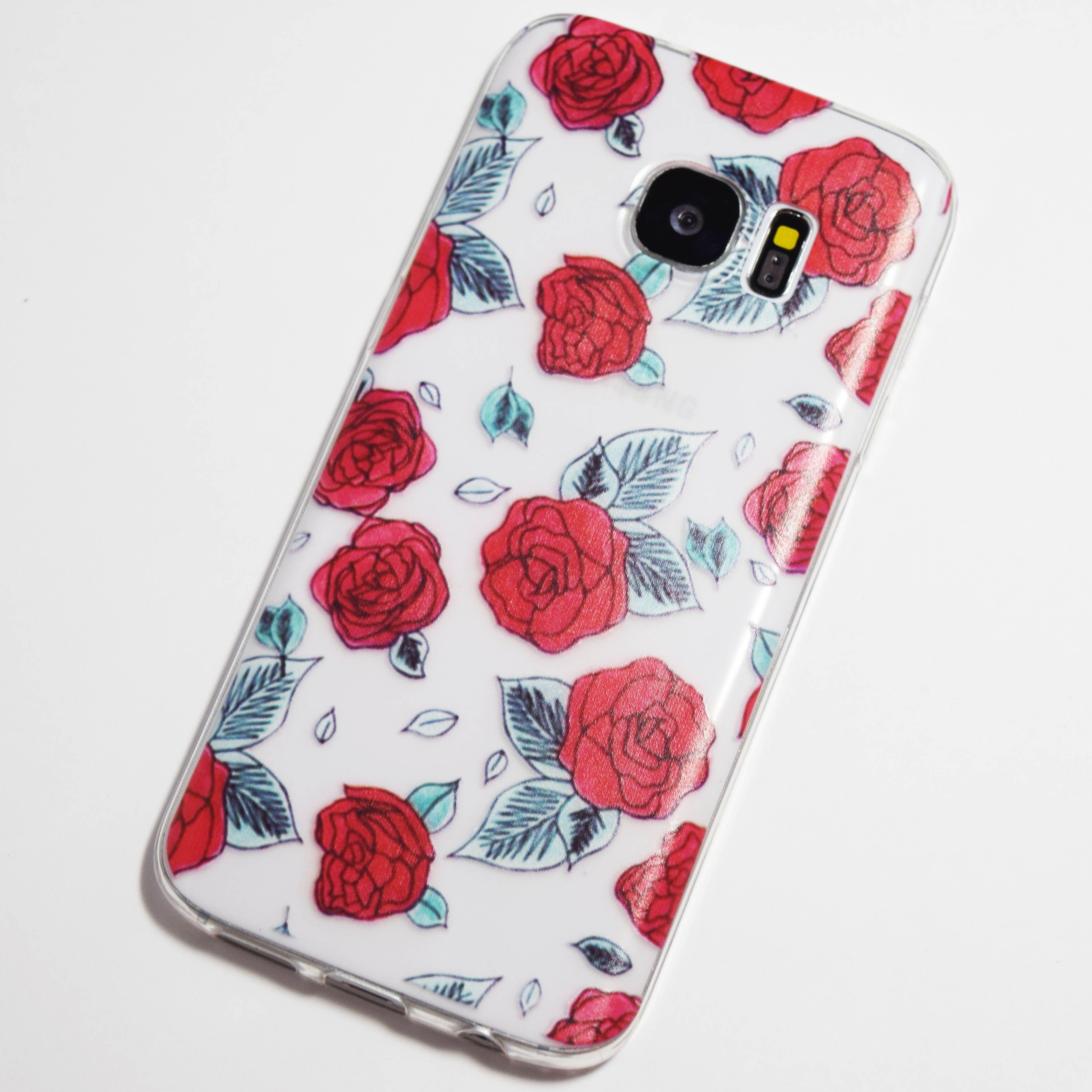 Red roses samsung galaxy s7 case retailite samsung